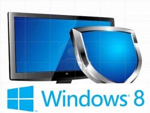 Как отключить антивирус windows 8