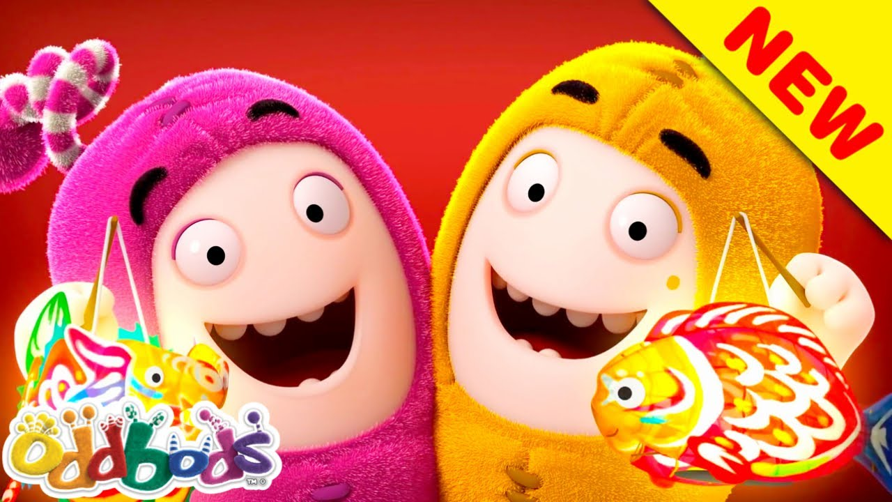 Oddbods Celebrating Mid Autumn With Yummy Mooncakes | Cartoons For Kids
