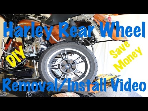 How To Remove Install Rear Wheel