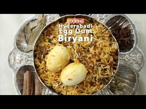 Hyderabadi Egg Dum Biryani    Ventuno Home Cooking