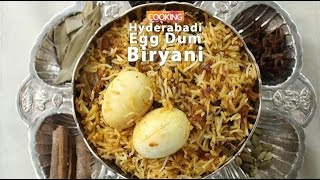 Hyderabadi egg dum biryani  |  ventuno home cooking
