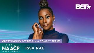 Issa Rae Wins Outstanding Actress In A Comedy Series For 'Insecure' | NAACP Image Awards