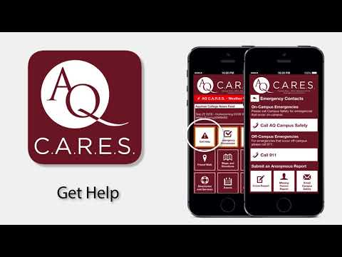 Aquinas C.A.R.E.S. (Campus News, Alerts, Response Guide, Emergency and Services)