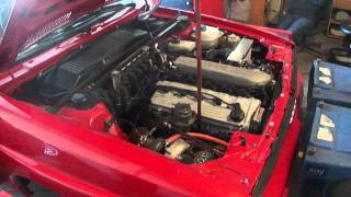 1984 Audi ur-quattro 20vt GT3071 VEMS tuning at Dyno Doc in Montreal engine shot
