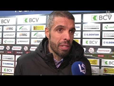 LSTV: FC Lausanne-Sport - FC Basel 1893, interview d'après-match avec Fabio Celestini