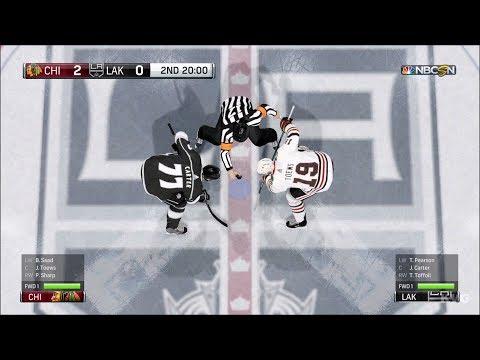 NHL 18 - Los Angeles Kings vs Chicago Blackhawks - Gameplay (HD) [1080p60FPS]