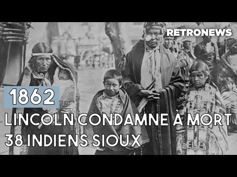 1862, l'exécution de 38 guerriers Sioux