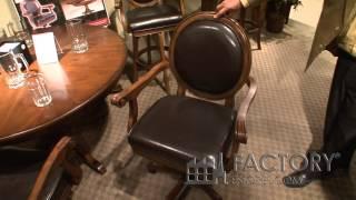 Hillsdale Kingston Swivel Chair - Factoryestores.com