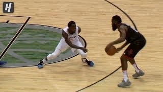Patrick Beverley SICK DEFENSE on James Harden | October 3, 2019 | 2019 NBA Preseason