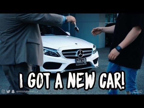 I GOT A NEW CAR! 2018 MERCEDES BENZ C CLASS!!! (C300)