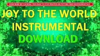 JOY TO THE WORLD INSTRUMENTAL DOWNLOAD - ORCHESTRAL Free Christmas Music