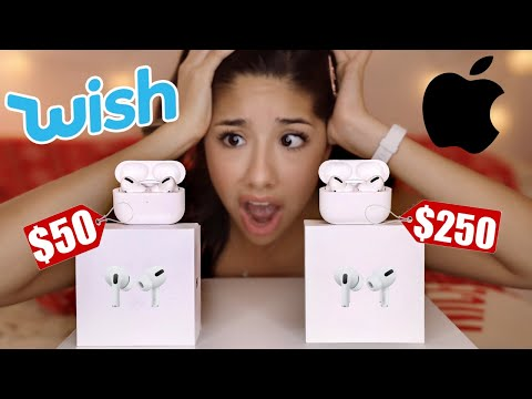 FAKE AirPod Pro From Wish!!!