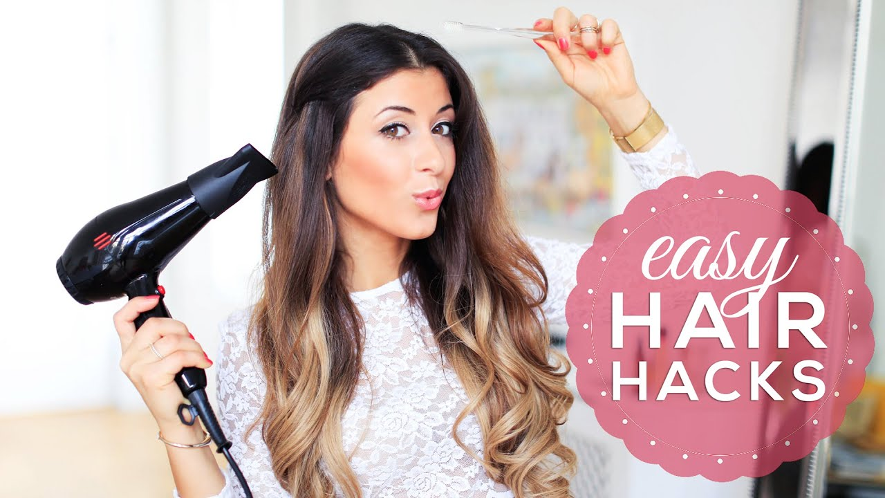Hair Hacks Every Girl Should Know Luxy Hair YouTube