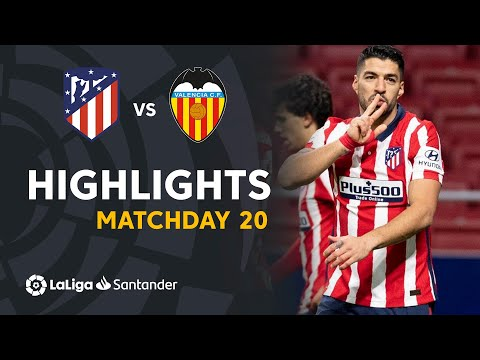 Atletico Madrid Valencia Goals And Highlights