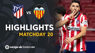 Highlights Atletico Madrid vs Valencia CF (3-1)