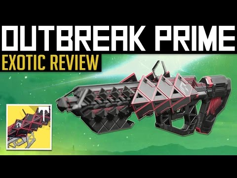 Destiny | OUTBREAK PRIME! - Exotic Pulse Rifle Gameplay & Review (Rise of Iron)