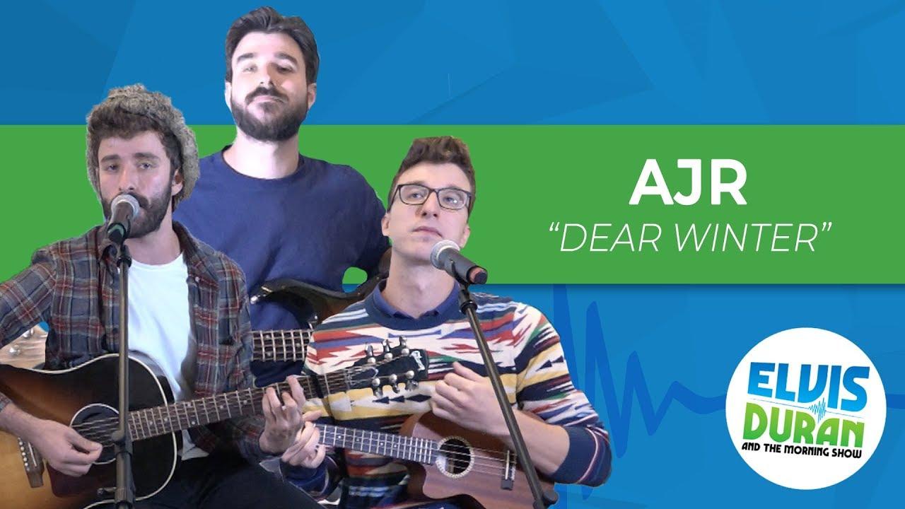 Ajr Dear Winter Elvis Duran Live Youtube F g c dear winter, i hope you like this song. ajr dear winter elvis duran live