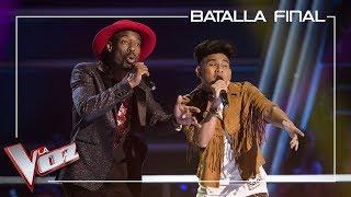 Mel y Lion cantan &#39Havana&#39 Batalla final La Voz Antena 3 2019