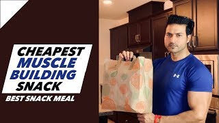 Best & Cheapest Muscle Building Snack | Full detail by Guru Mann