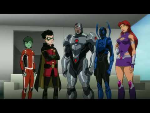 Justice League VS Teen Titans AMV My Deamons