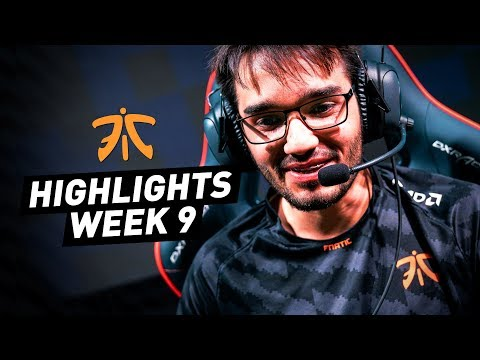 Nemesis playing ADC, Hyli swapping to mid | Fnatic Highlights Summer Week 9 (SPY/RGE)