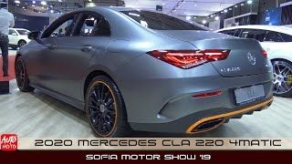 2020 Mercedes CLA 220 4Matic - Exterior And Interior - Sofia Motor Show 2019