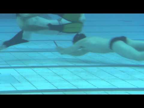 Octopush Underwater Hockey Nation Finals 2014