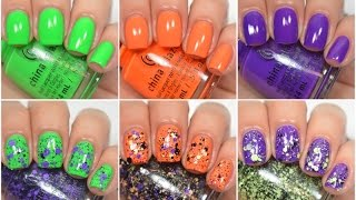 China Glaze - Ghoul's Night Out (halloween 2015) | Swatch And Review