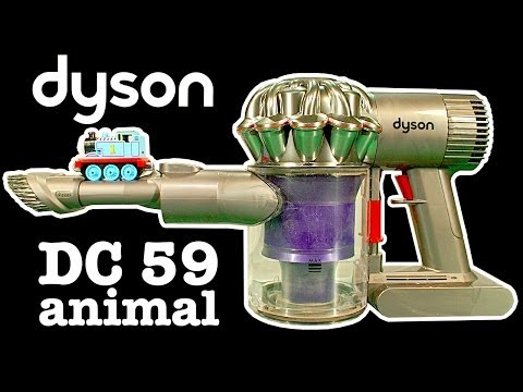 Dyson DC59 Animal Vs Dyson DC35 SUCK OFF Amazing Vacuum Cleaner Review