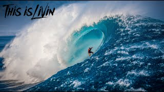 BIGGEST SWELL IN YEARS! SURFING MASSIVE OUTER REEF! (Hawaii, Oahu)