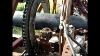 High Speed Pipe Stripping Machine Part 1