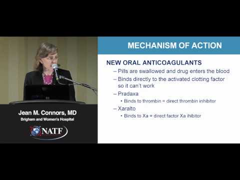 2012 Patient Seminar: Understanding Anticoagulant Therapy | Jean M. Connors, MD