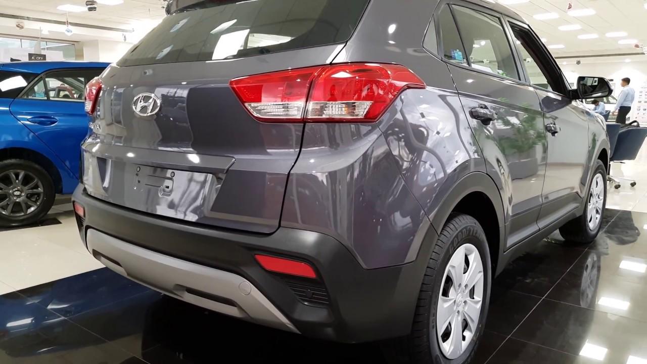 Hyundai Creta Facelift StarDust Color in INDOOR and ...