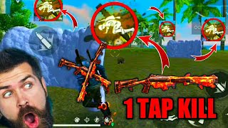 One Tap Kill by Shotgun in Free Fire   M1014,Spas12 and M1887 Headshot Trick