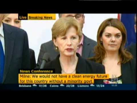 The Australian Greens MPs press conference - 13-4-2012