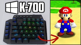 K-700 One Handed Gaming Keyboard! (Unboxing/Review/Test)