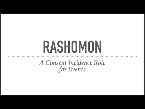 Rashomon Webinar with Graydancer