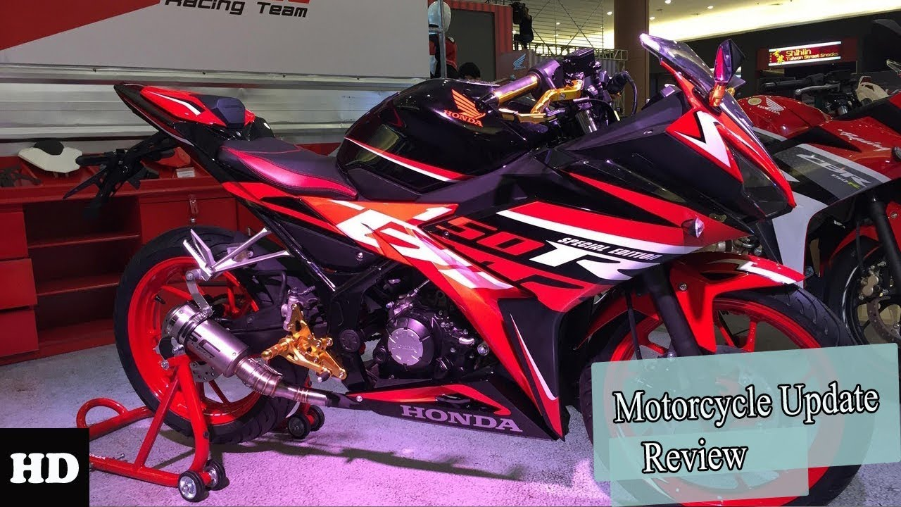 Hot News Review The Honda Cbr150r 2018 New Generation Youtube
