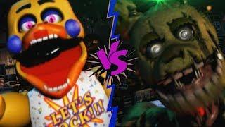 Video de SPRINGTRAP VS ROCKSTAR CHICA - La Liga de FNAF | FIVE NIGHTS AT FREDDY'S ULTIMATE CUSTOM NIGHT (J1)