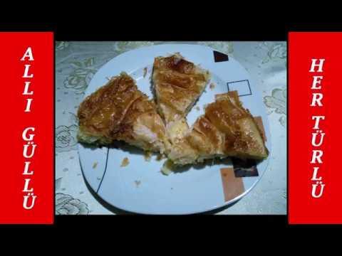 Erişteli peynirli börek tarifi