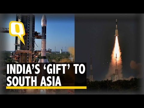 The Quint: PM Modi Says Launch Of South Asia Satellite a Historic Moment