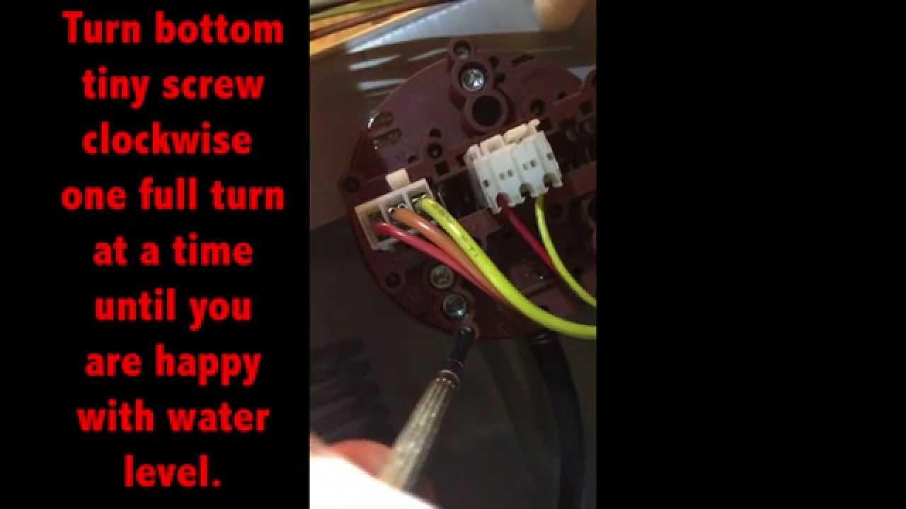 Water Level Adjustment Switch Ge Front Loader Washing Machine