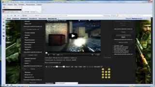 Как добавить видео, мувик на свой сайт uCoz(Как добавить видео, мувик на свой сайт uCoz Заходим на сайт www.GameFrag.3dn.ru - Все для Cs 1.6 , шаблоны , скрипиты , разны..., 2012-08-09T19:34:19.000Z)