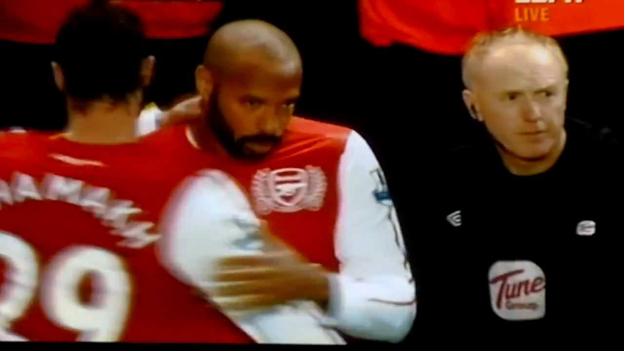 Thierry Henry Returns To Arsenal