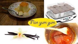 Recette du flan au caramel facile avec la multidélice de Seb