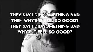 Taylor Swift - I Did Something Bad - Lyrics Video