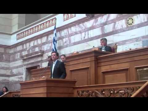 Tim Shriver at the Hellenic Parliament