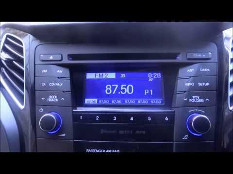 2012 HYUNDAI i40 BLUETOOTH, CD MP3 PLAYER STEREO