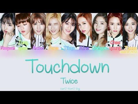 TWICE (트와이스) – Touchdown (Color Coded) (HAN/ROM/ENG) Lyrics