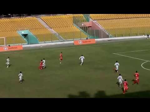 Ghana U17 2 - 0 Niger U17 friendly highlights - AFCON U17 Gabon